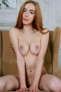 Model Francesca in Playfully Sexy