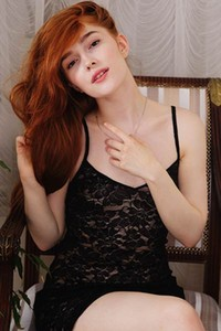 Model Jia Lissa in Fiery Beauty