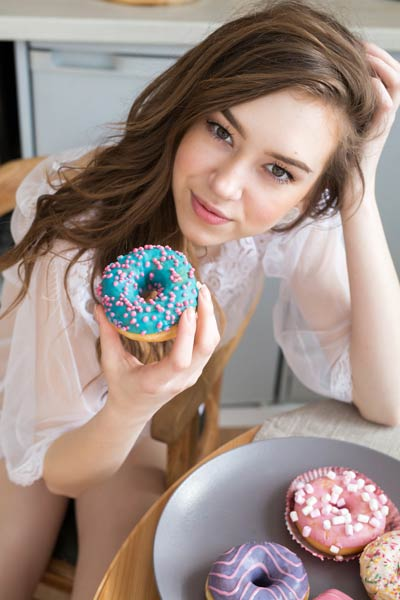 Model Galina in My Donut